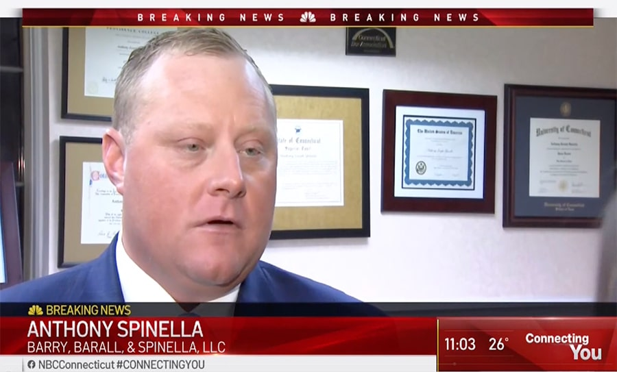 Watch Anthony Spinella on NBC CT